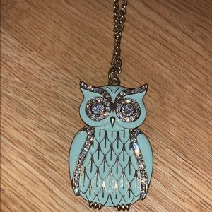 Forever21 Owl Necklace NWT